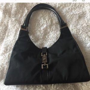 Gucci Jackie Bardot Black  handbag